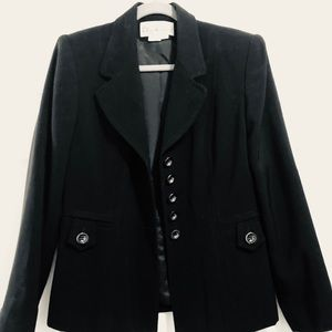 Oleg Cassini black blazer
